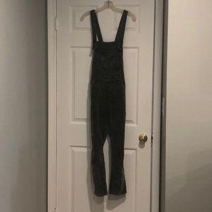 Free People size 28 corduroy overalls